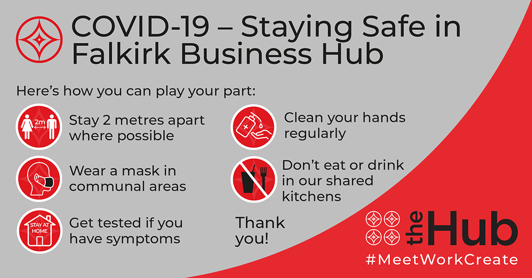 Staying Safe in falkirk Business Hub